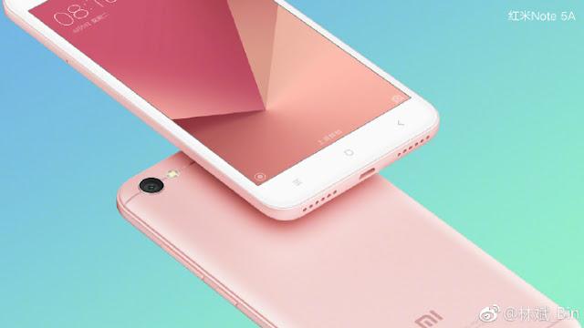[Updated] Xiaomi Redmi Note 5A Gambar dan Spesifikasi