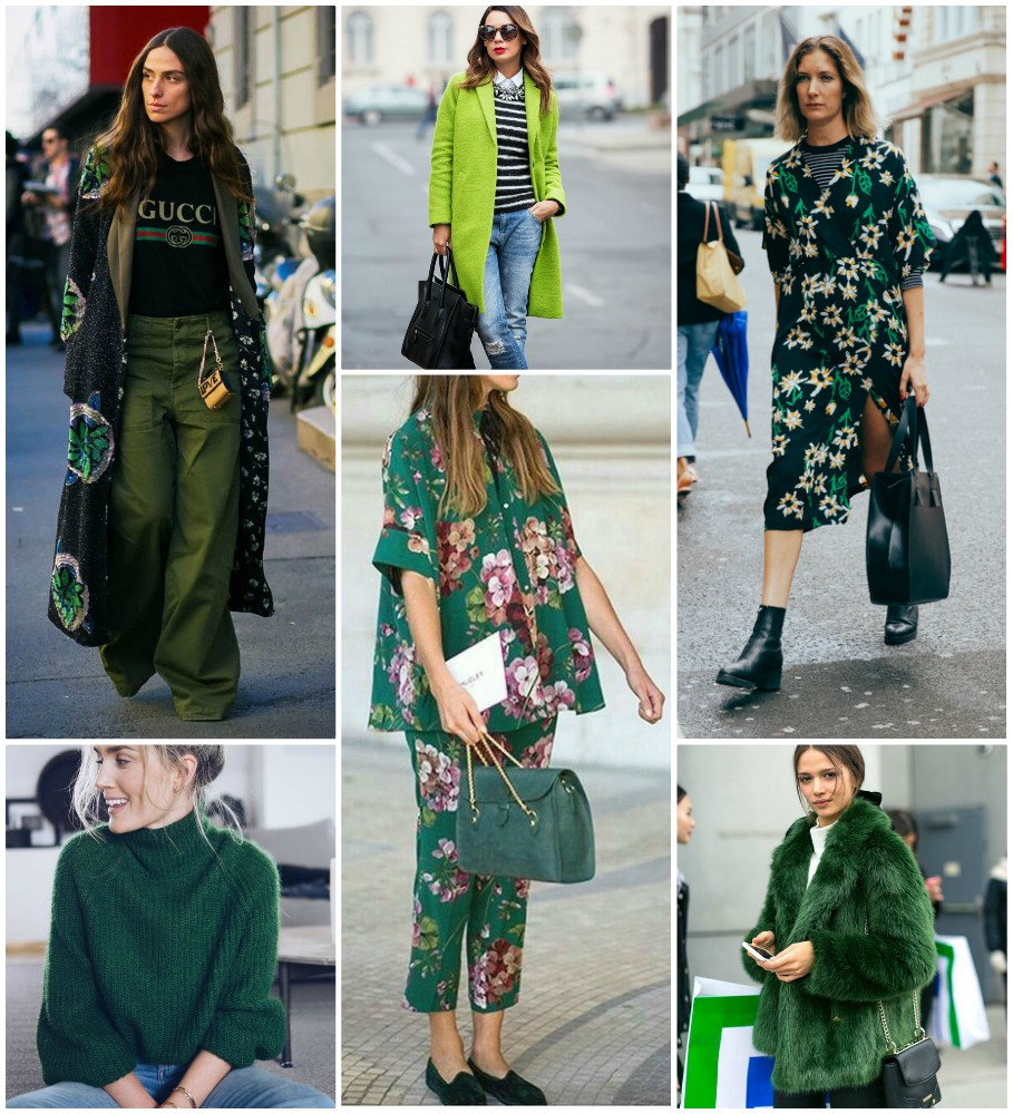 How to Wear: Green Inspiration #2