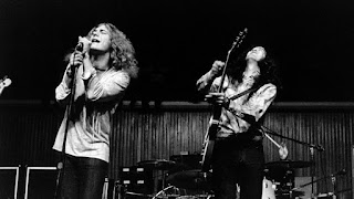 Led Zeppelin, Robert Plant y Jimmy Page - 1970