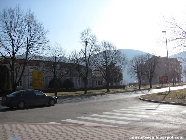 По дороге из Мостара в Подгорицу - Требине, Босния