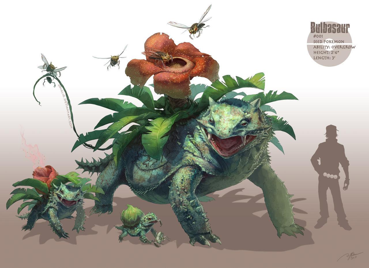 Bulbasaur by Arvalis