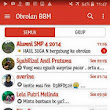 Download BBM MOD Orange UI v3.3.4.48 APK Terbaru for Android Gratis