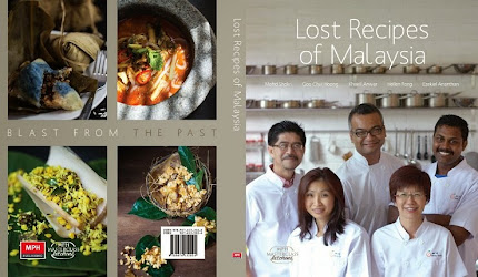 Cover of 'Lost Recipes of Malaysia' (draft copy)