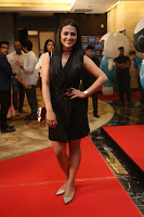 Actress Shraddha Srinath Stills in Black Short Dress at SIIMA Short Film Awards 2017 .COM 0035.JPG