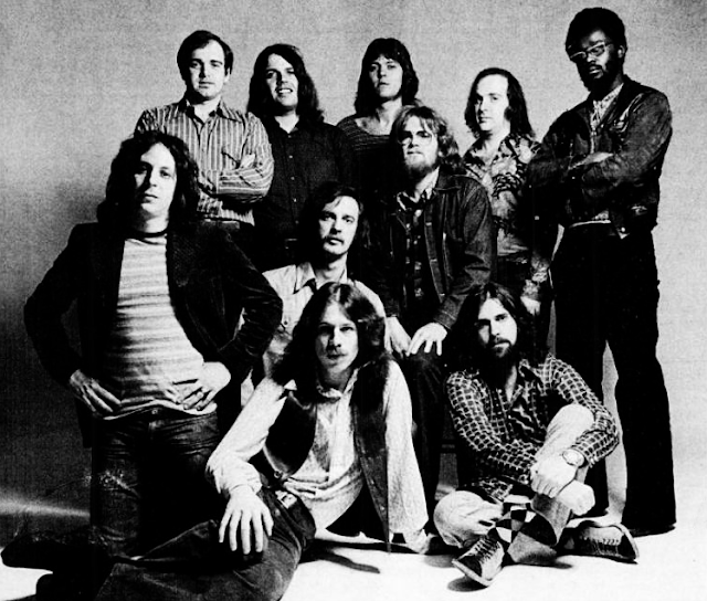 """O grupo californiano Blood, Sweat and Tears, que ganhou o Grammy, em 1969, pela canção """"Spinning Wheel"""". (Foto: Reprodução)"""