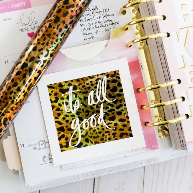 Heidi Swapp Minc It Monday by Jamie Pate | @jamiepate for @heidiswapp