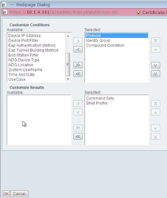 ACS customize