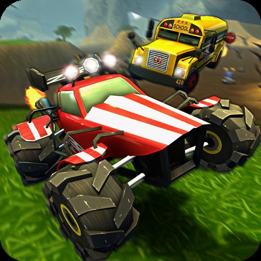 تحميل لعبه Crash Drive 2: 3D racing cars مهكره بالكامل اخر اصدار