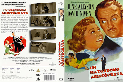 Cover, dvd, caratula: Un mayordomo aristócrata | 1957 | My Man Godfrey