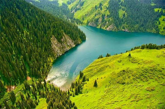 Cazaquistão paisagem