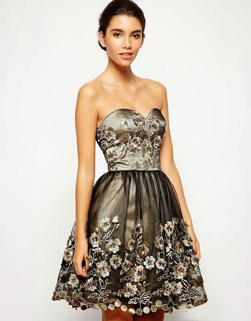 Modernos vestidos de fiesta