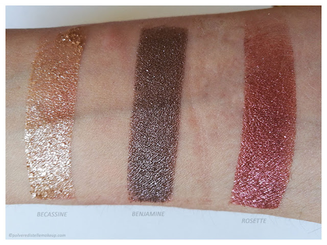 PaolaP MakeUp Precious Eyeshadows Swatches