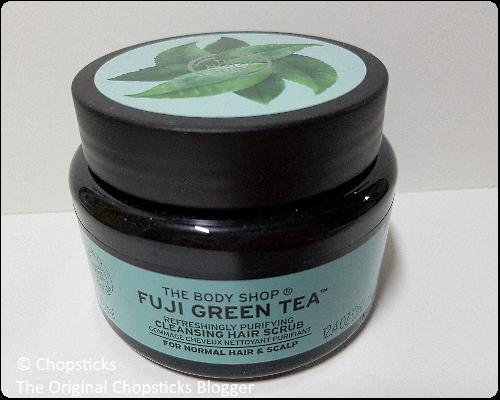 The Body Shop Fuji Green Tea Refreshingly Purifying Cleansing Hair Scrub for Clean Scalp