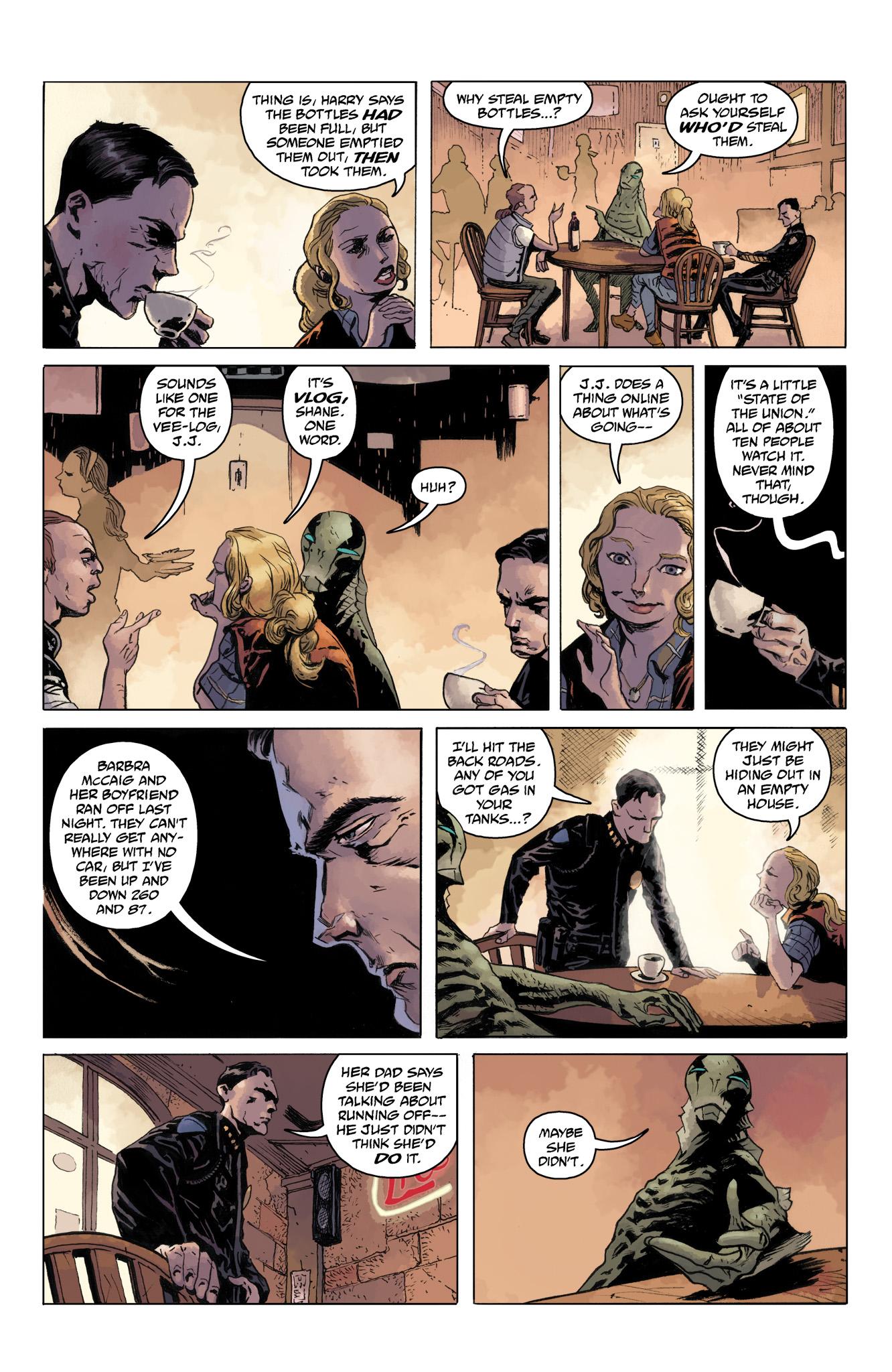 Read online Abe Sapien comic -  Issue #10 - 21