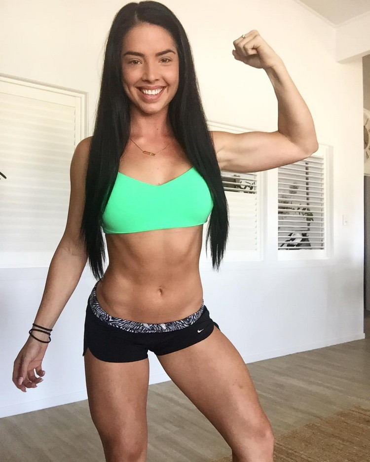 female Fitness Model Emma Dillon