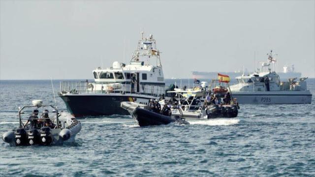 "España convoca al embajador británico por ""temeraria"" acción de bote británico en Gibraltar"