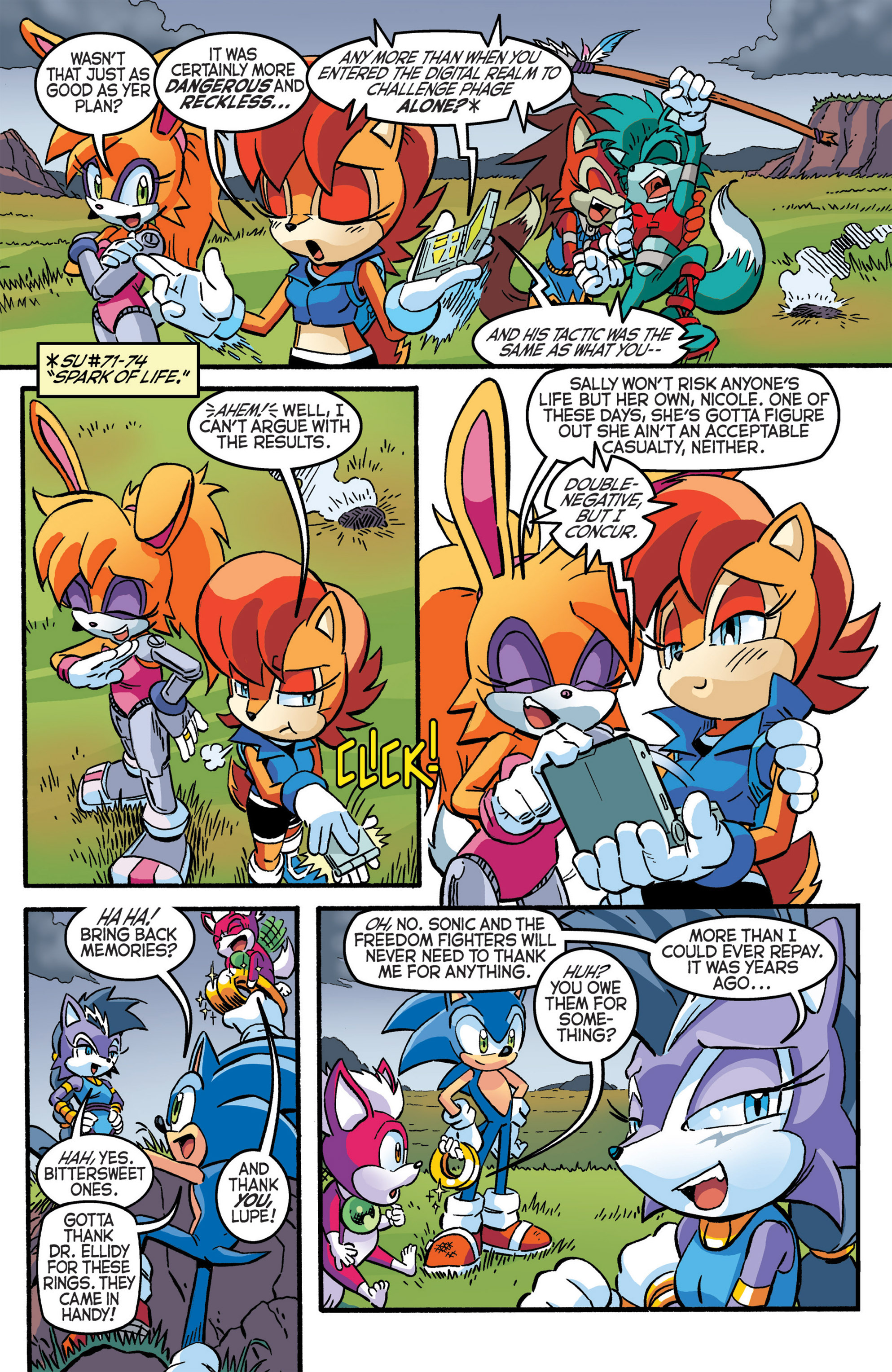 Read online Sonic The Hedgehog comic -  Issue #277 - 6