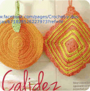 Agarra-ollas a Crochet