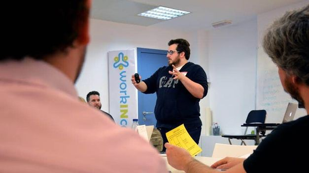 Jaime Aranda Workincompany en Startup Week Europa