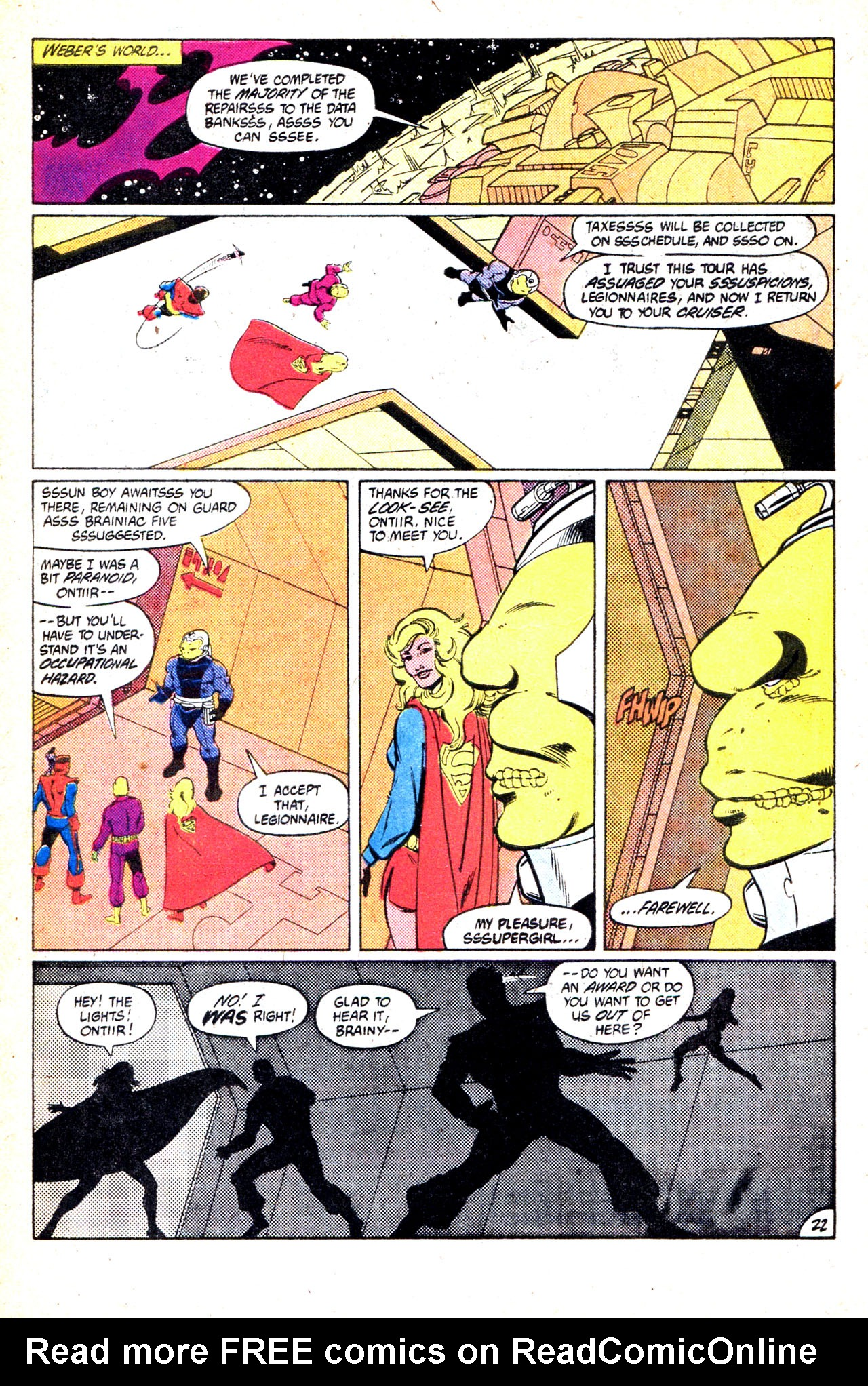 Legion of Super-Heroes (1980) 302 Page 30