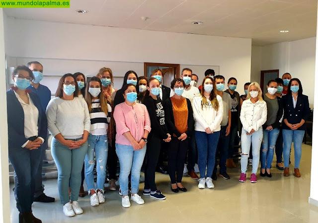 Inaugurado 'Sabor Saucero', el novedoso proyecto de empleo para mayores de 30 años que potencia el consumo y la comercialización de la producción de San Andrés y Sauces