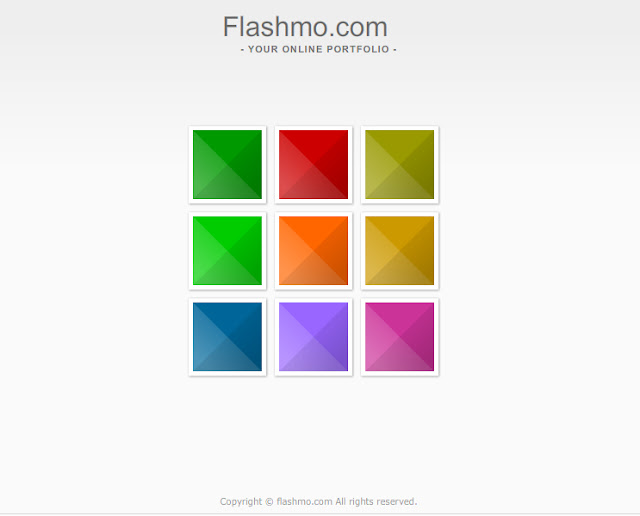 screenshot flashmo-portfolio