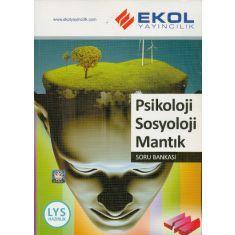 Ekol Yayıncılık LYS Psikoloji Sosyoloji Mantık Soru Bankası