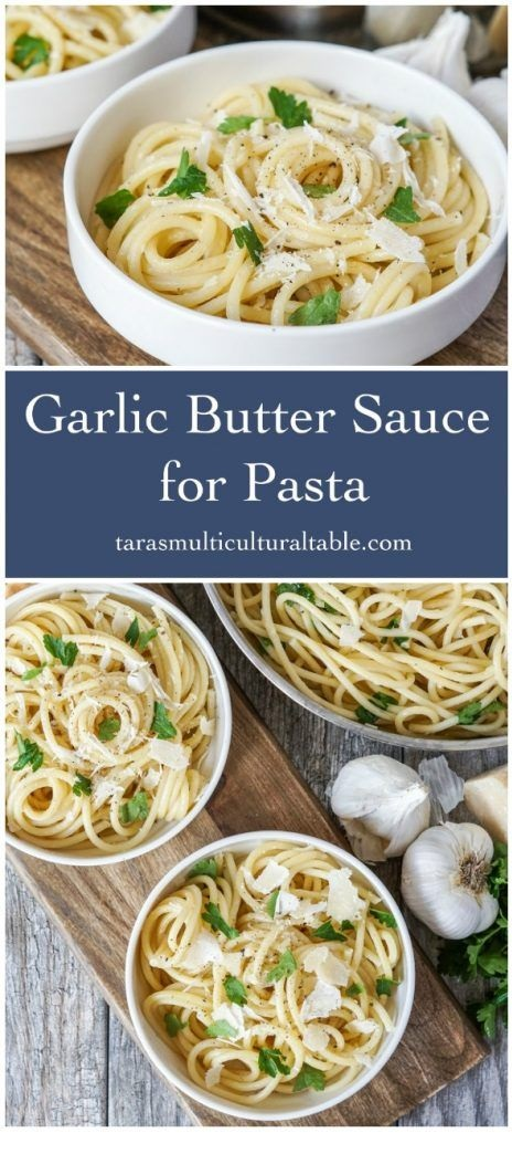 Garlic Butter Sauce for Pasta