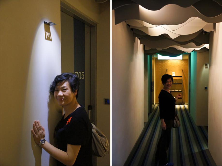 gladysliu: 與老爺散心遊臺北5天2012 (2)~ 入住design hotel八方美學商旅