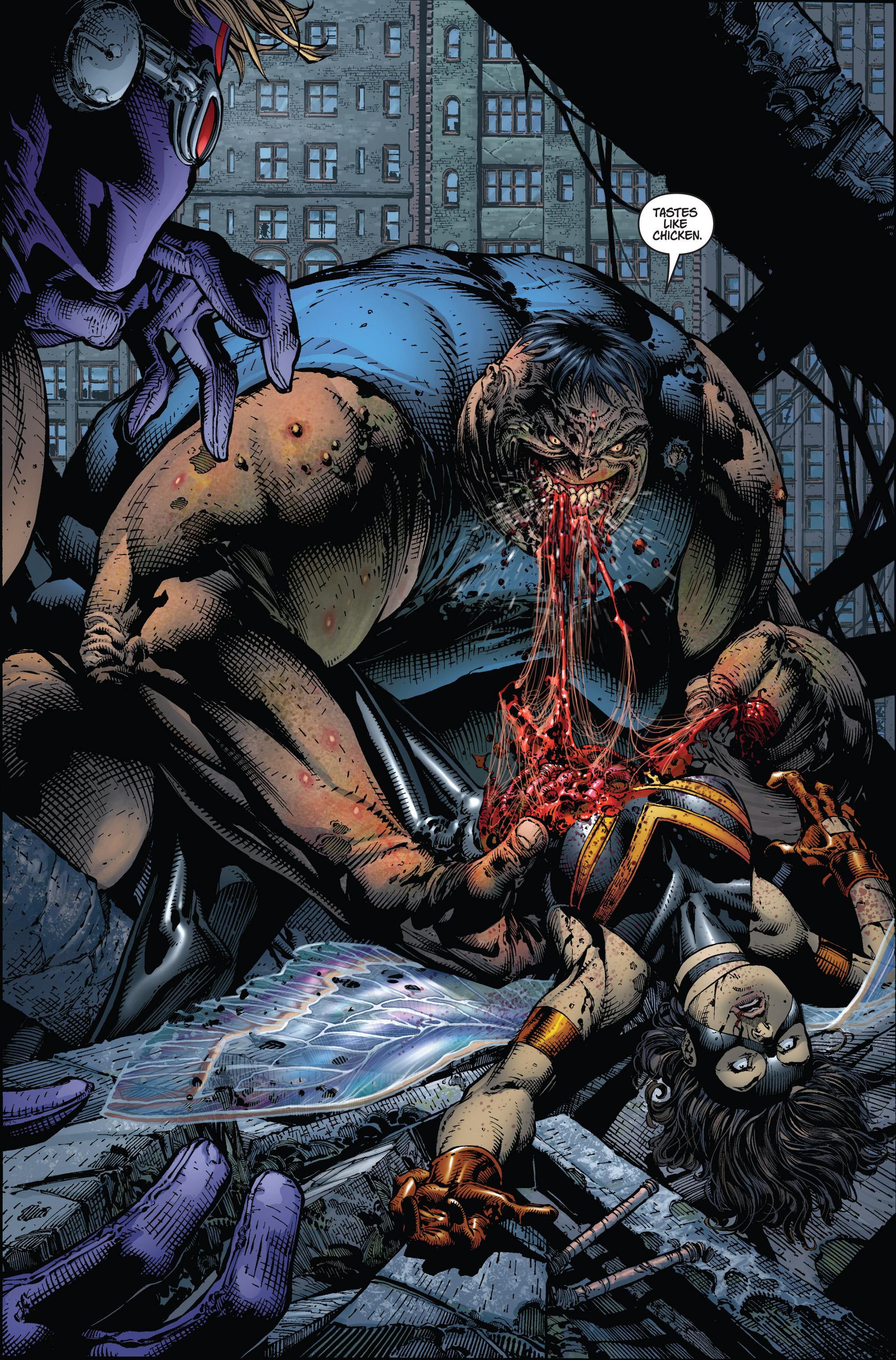 Read online Ultimatum comic -  Issue #2 - 21