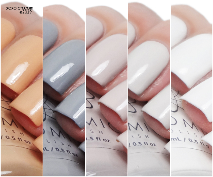 xoxoJen's swatch of Atomic Polish Neutral Cream Collection