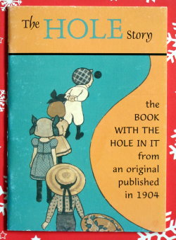 The Hole Story Vintage child's book