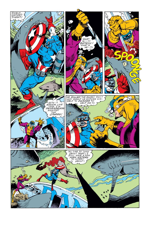 Captain America (1968) Issue #360 #293 - English 10