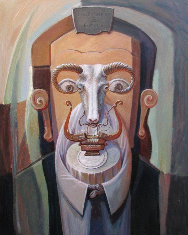 Олег Шупляк 1967   Optical illusionist painter