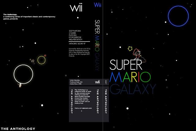 Capa Super Mario Galaxy Wii