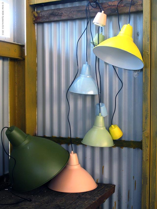 spraymale lampe