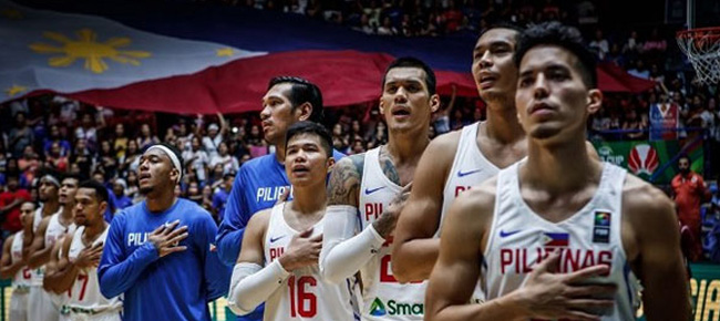 Gilas Pilipinas pool for the FIBA Basketball World Cup 2019 Asian Qualifiers (February 2018)