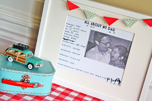 personalised gifts for dad from daughter