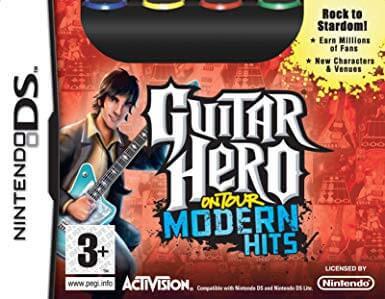 โหลดเกม ROM Guitar Hero On Tour Modern Hits .nds