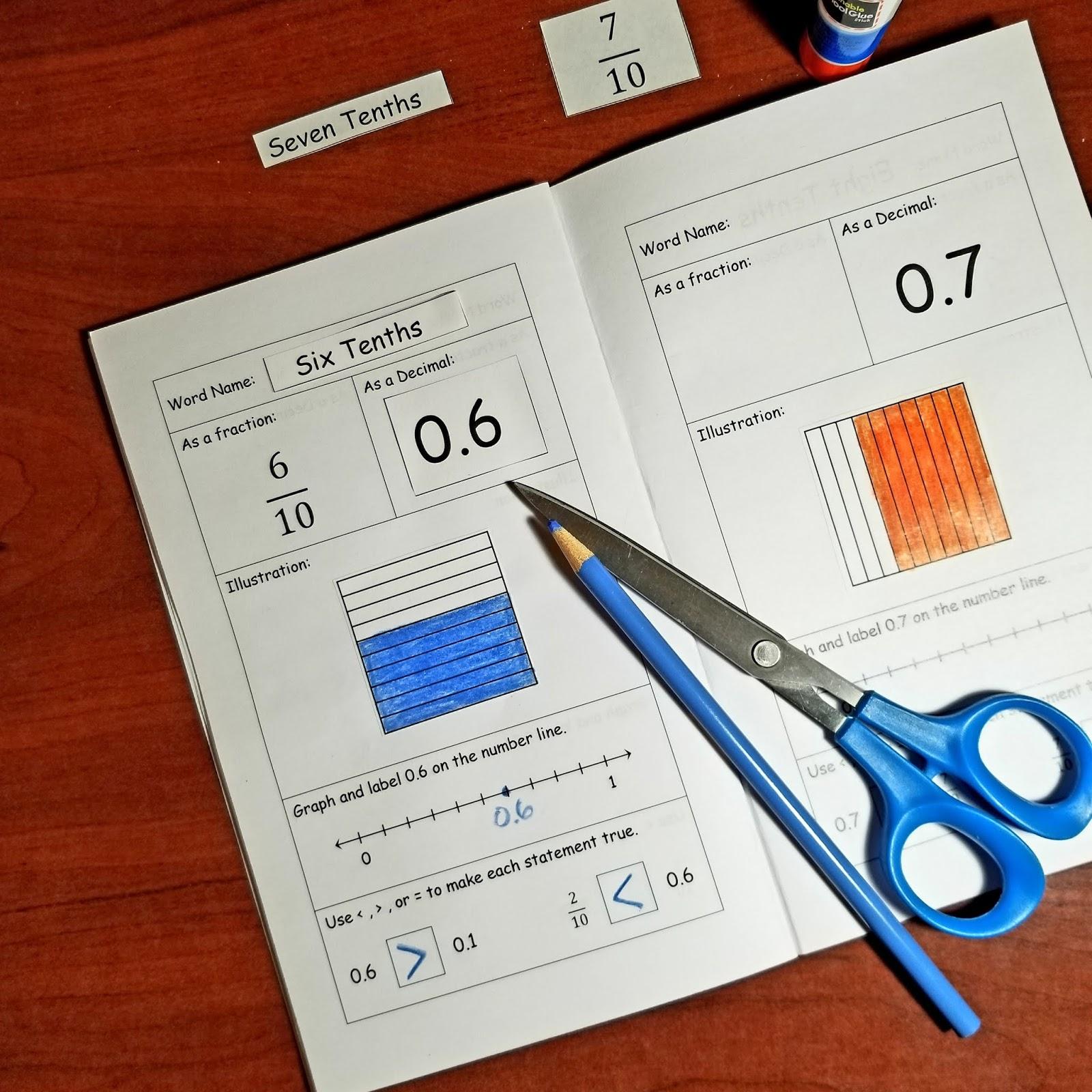Mitchell Math Activities Hands On Activities For Decimal