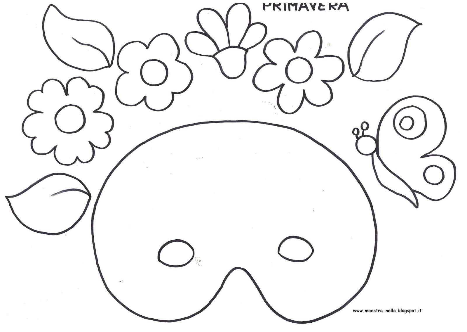 Maschere carnevale da colorare for Pianetabambini it maschere di carnevale