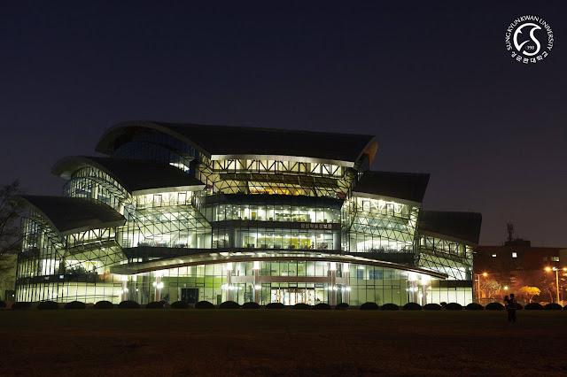 Trường đại học Sungkyunkwan về đêm