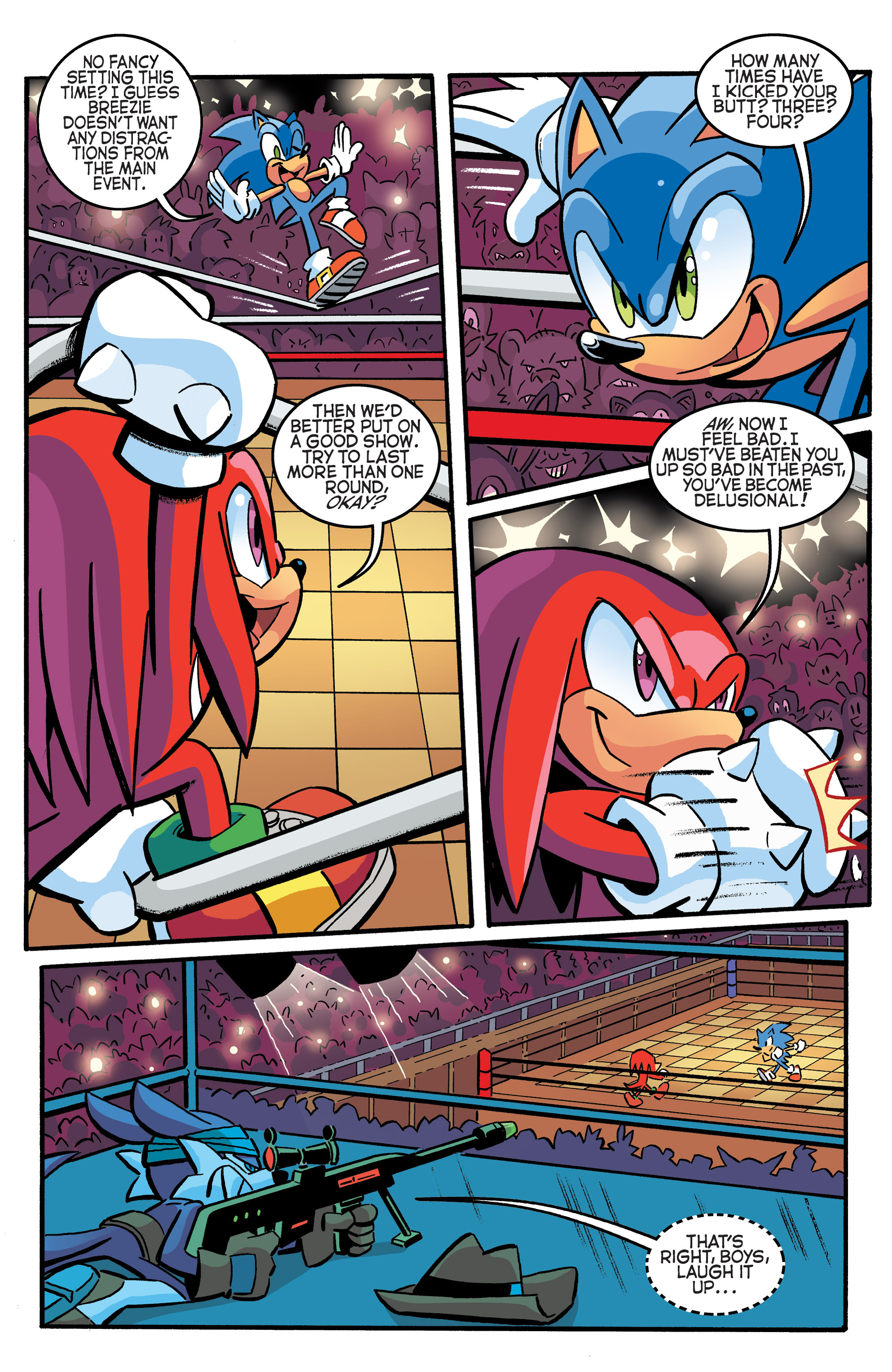 Read online Sonic The Hedgehog comic -  Issue #270 - 21