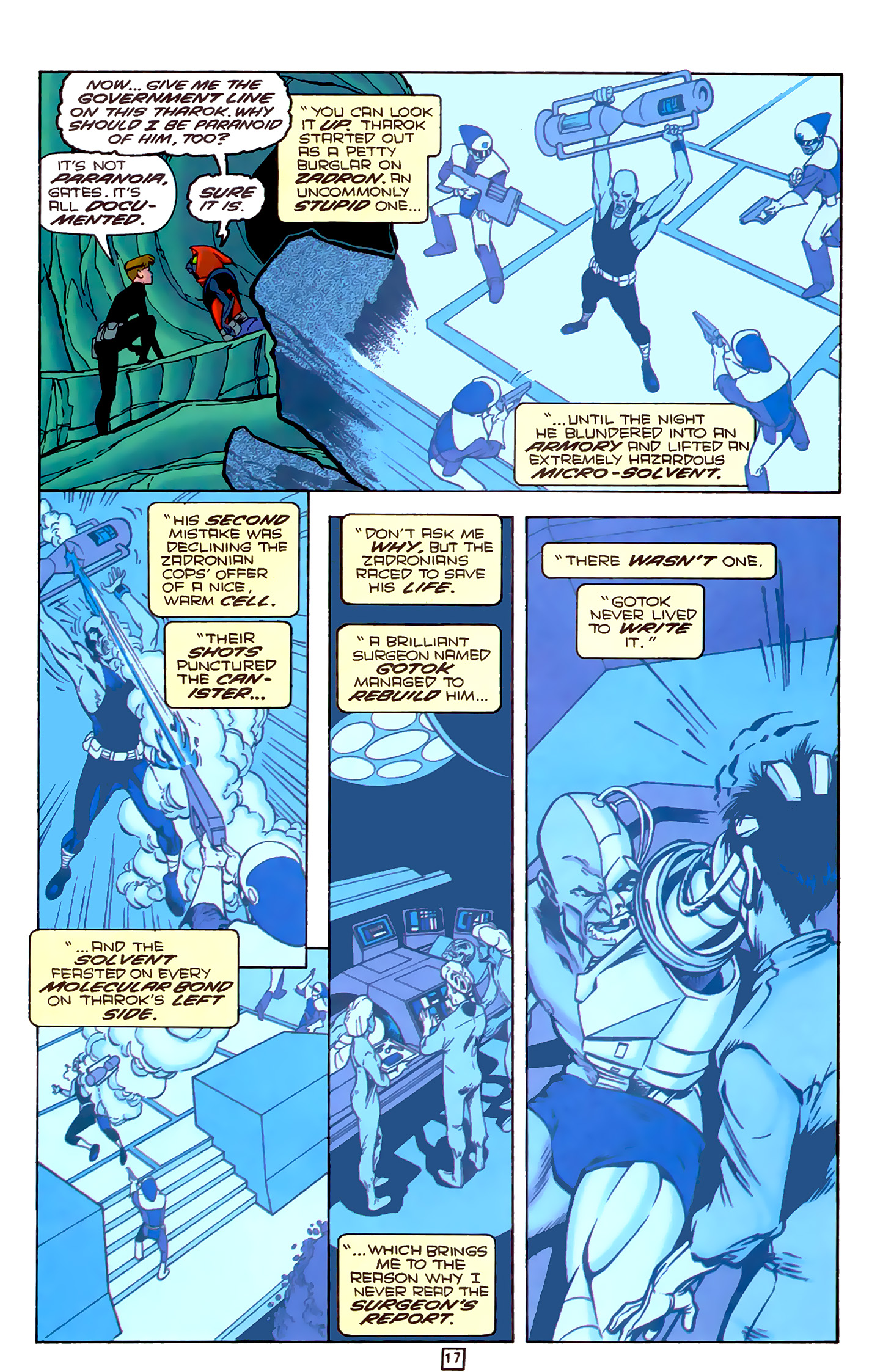 Legion of Super-Heroes (1989) 78 Page 17