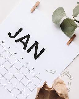 Kalendarz na rok 2019.