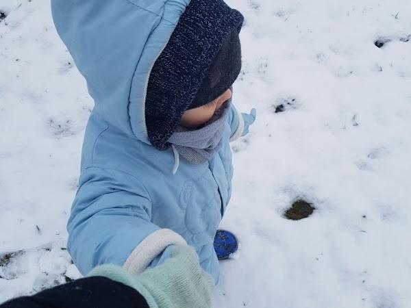 On découvre la neige