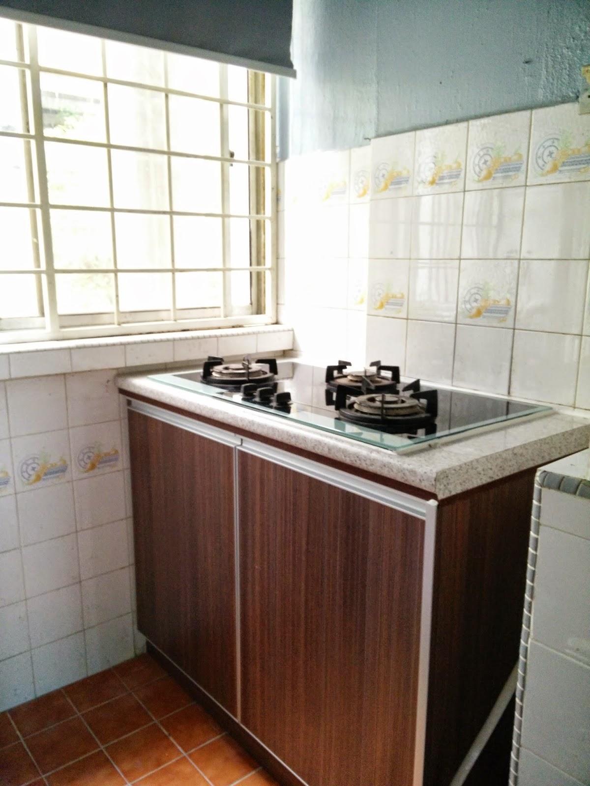 Dapur Memasak Baru Selepas Renovation