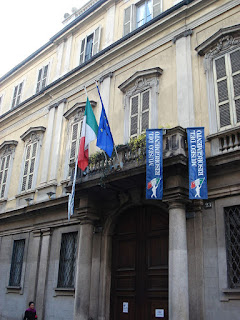 The Museum of the Risorgimento is in the Palazzo Moriggia in Via Borgonuovo