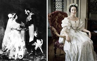 rainha+victoria - Vestidos de Noiva Coloridos - Inspirações