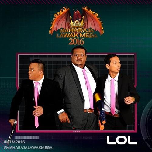 LOL Maharaja Lawak Mega MLM 2016